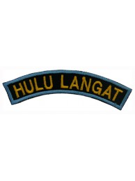 BSM DISTRICT STRIPS - HULU LANGAT EMBROIDERD PATCH