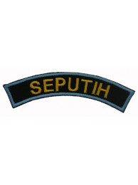 BSM DISTRICT STRIPS - SEPUTIH EMBROIDERD PATCH