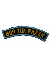 BSM DISTRICT STRIPS - BDR TUN RAZAK EMBROIDERD PATCH
