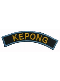 BSM DISTRICT STRIPS - KEPONG EMBROIDERD PATCH