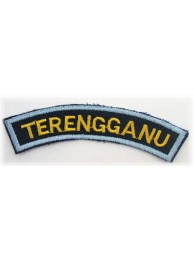 BSM DISTRICT STRIPS - TERENGGANU EMBROIDERD PATCH