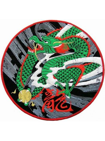 GIANT DELUXE DRAGON EMBROIDERED PATCH (P)