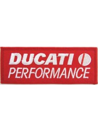 DUCATI BIKER IRON ON EMBROIDERD PATCH #01