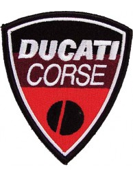 DUCATI BIKER IRON ON EMBROIDERD PATCH #04