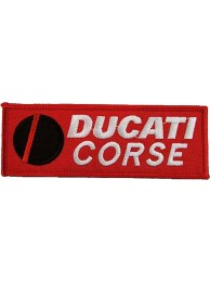 DUCATI BIKER IRON ON EMBROIDERD PATCH #05