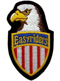 EASYRIDERS BIKER EAGLE EMBROIDERED PATCH