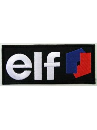 ELF OIL MOTOR RACE RACING EMBROIDERED PATCH #04