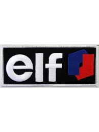 ELF Oil & Gas F1 Racing Embroidered Patch