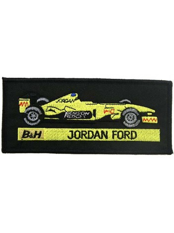 BENSON & HEDGES JORDAN F1 EMBROIDERED PATCH