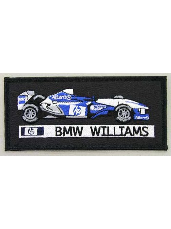 BMW WILLIAMS F1 RACING EMBROIDERED PATCH #05