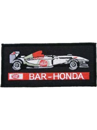 BAR HONDA F1 RACING EMBROIDERED PATCH #01
