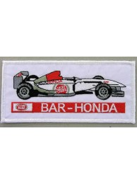 BAR HONDA F1 RACING EMBROIDERED PATCH #02
