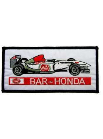 BAR HONDA F1 RACING EMBROIDERED PATCH #04