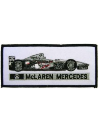 MCLAREN MERCEDES F1 RACING EMBROIDERED PATCH