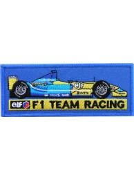 RENAULT F1 RACING EMBROIDERED PATCH #12