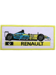 RENAULT F1 RACING EMBROIDERED PATCH #14
