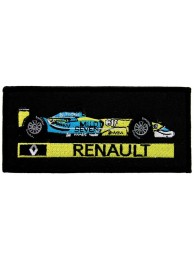 RENAULT F1 CAR RACING EMBROIDERED PATCH