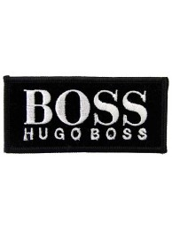 Hugo Boss F1 Team Racing Embroidered Patch #01
