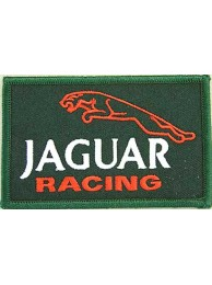 JAGUAR AUTOMOBILE F1 EMBROIDERED PATCH #01