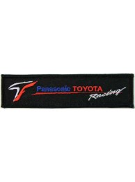 TOYOTA  AUTO LOGO IRON ON EMBROIDERED PATCH #01