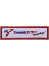 TOYOTA  AUTO LOGO IRON ON EMBROIDERED PATCH #02