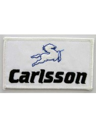 CARLSSON F1 RACING EMBROIDERED PATCH