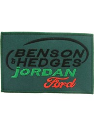 BENSON & HEDGES JORDAN RACING SPORT EMBROIDERED PATCH #05