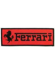 FERRARI RACING EMBROIDERED PATCH #04
