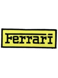 FERRARI RACING EMBROIDERED PATCH #07