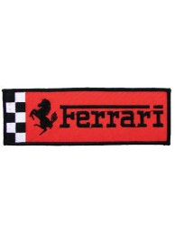FERRARI RACING EMBROIDERED PATCH #08