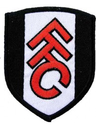 FULHAM FOOTBALL CLUB SOCCER EMBROIDERED PATCH #01