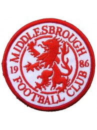 MIDDLESBROUGH FOOTBALL CLUB SOCCER EMBROIDERED PATCH #01
