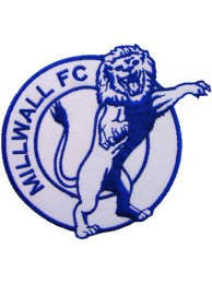 MILLWALL FOOTBALL CLUB SOCCER EMBROIDERED PATCH #01