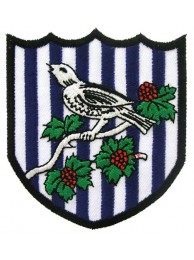 WEST BROMWICH ALBION FOOTBALL CLUB SOCCER EMBROIDERED PATCH #01