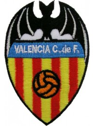 VALENCIA FOOTBALL CLUB SPAIN EMBROIDERED PATCH