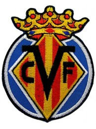 VILLARREAL FOOTBALL CLUB SPAIN EMBROIDERED PATCH