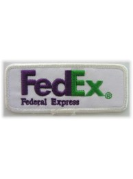 FedEx LOGO IRON ON EMBROIDERED PATCH #01