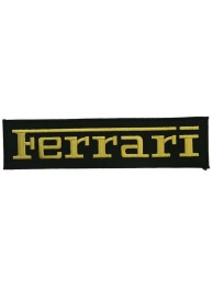 GIANT FERRARI F1 RACING EMBROIDERED PATCH (K1)