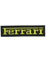 GIANT FERRARI F1 RACING EMBROIDERED PATCH (K2)