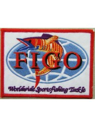 FIGO - Worldwide Sports fishing Tackle Patch #01