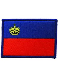 LIECHTENSTEIN FLAG PATCH (C)