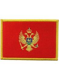 MONTENEGRO FLAG (C)