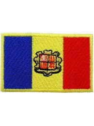 """Andorra Flags """"Without Text"""""""