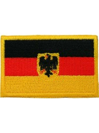 "Germany Eagle Flags ""Without Text"""