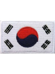 "Korea, South Flags ""Without Text"""
