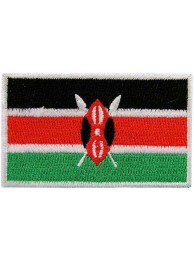 "Kenya Flag ""Without Text"""