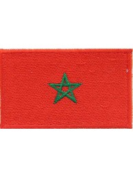 "Morocco Flags ""Without Text"""