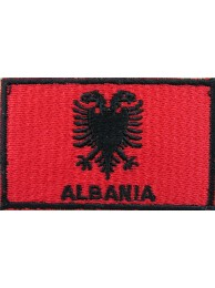 "Albania Flags ""With Text"""