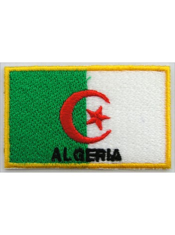 "Algeria Flags ""With Text"""