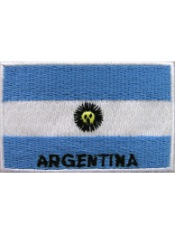 "Argentina Flags ""With Text"""